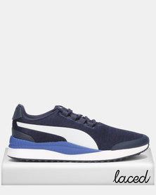 Puma Sportstyle Core Pacer Next FS Knit Peacoat-Puma Black-Surf The Web-Puma White