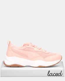 Puma Sportstyle Core Cilia Sneakers Peach Bud/Puma White/Puma Silver Gum