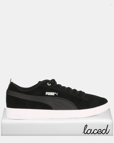Wns Puma Smash Sportstyle V2 Sneakers Black Core Sd thrQBCsdx