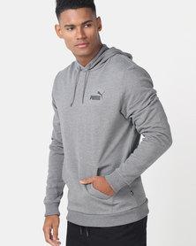 Puma Sportstyle Core ESS Hoodie FL Grey