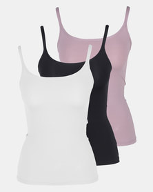 Playtex 3 Pack Premium Vest Multi