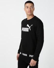 Puma Sportstyle Core Amplified Crew FL Black