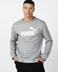 Puma Sportstyle Core Amplified Crew FL Grey