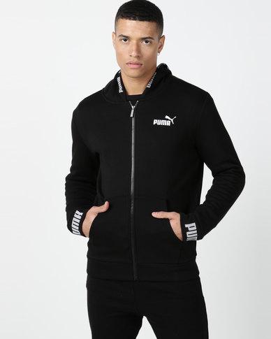 Puma Sportstyle Core Amplified Hooded Jacket FL Black