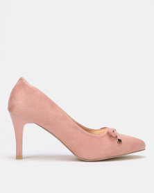 Utopia Pointy Bow Court Dusty Pink