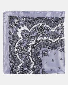 Joy Collectables Floral Grey Scarf