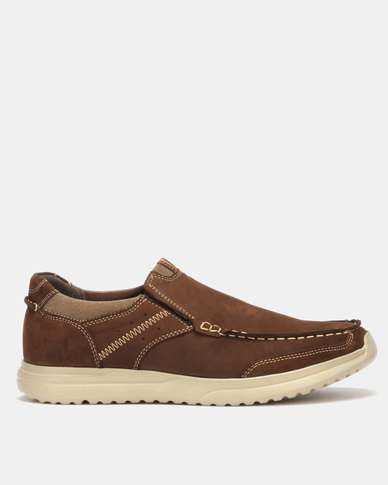 Step On Airs Mendyl Coffee Casual Shoes