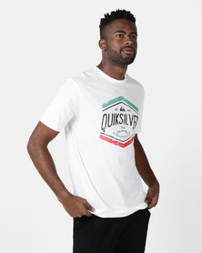 Quiksilver Sketchy Member T-shirt White