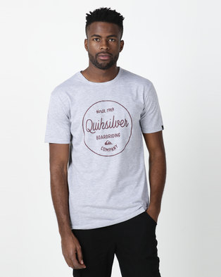 Quiksilver Morning Slides T-shirt Grey