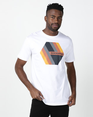 Quiksilver Retro Right T-shirt White