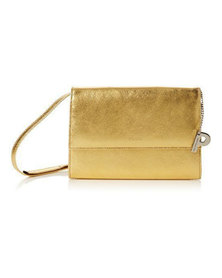Picard Auguri Leather Evening Shoulder Handbag Gold