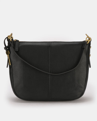 8a089a7c1624 Fossil Jolie Leather Crossbody Bag Black | Zando