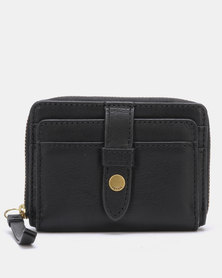 Fossil Fiona Leather Coin Wallet Black