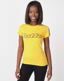 Lotto Athletica II Tee W Yellow