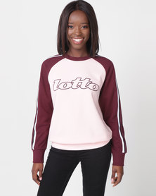 Lotto Athletica II Sweat RN W Pink