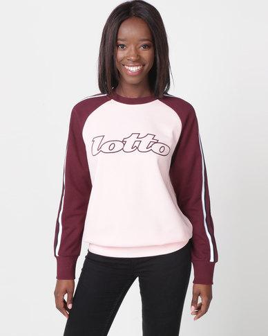 Lotto Athletica II Sweat RN W Pink