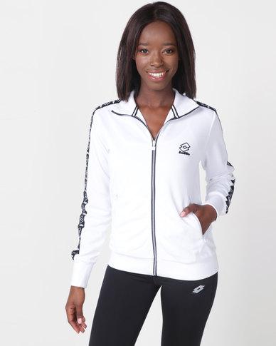 Lotto Athletica II Sweat FZ W White