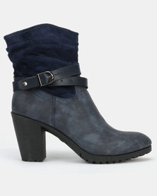 AWOL Ankle Boots Blue