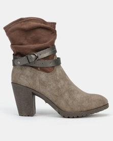 AWOL Ankle Boots Khaki
