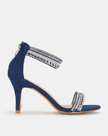Staccato Evening Sandal Heels Navy