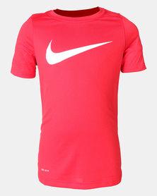 Nike B Nk Dry Tee Leg Swoosh Nike Red