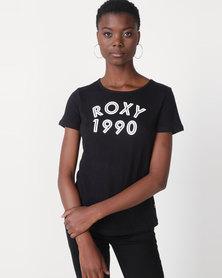 Roxy Please Surf Tee Black