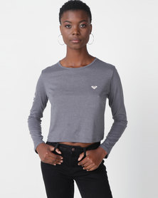 Roxy Chasing The Sun Longsleeve Tee Grey