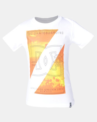 DC Danny Palm Tee White