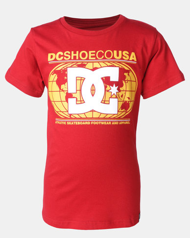 DC Circle Star Tee Rich Red