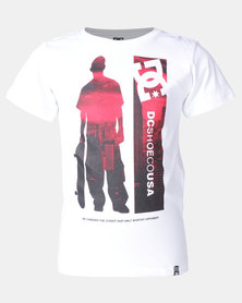 DC Opponents Tee White