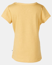 Roxy Dream Another Dream In The Sea Tee Khaki