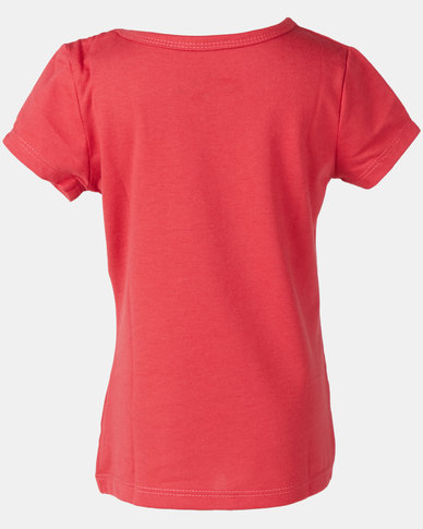Roxy Dream Another Dream In The Sea Tee Red