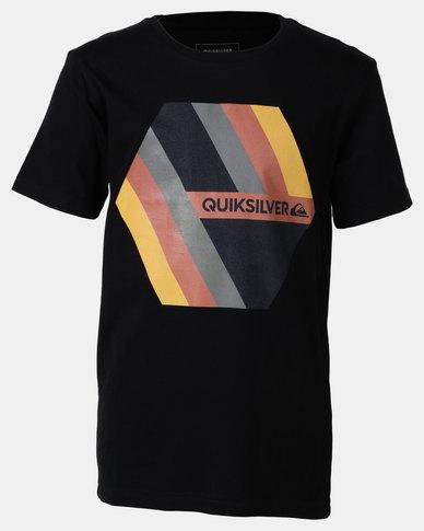 Quiksilver Retro Right Boy T-shirt Black