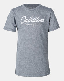 Quiksilver Fineline Boy T-shirt Blue