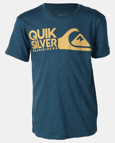 0992df929a Quiksilver Mission Impossible Boy T-shirt Blue