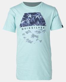 Quiksilver Bamboo Breakfast Boy T-shirt Green