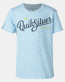 Quiksilver Radio Song Boy T-shirt Blue
