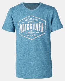 Quiksilver Cut Back Boy T-shirt Blue