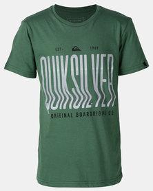 Quiksilver Laroo Point Boy T-shirt Green