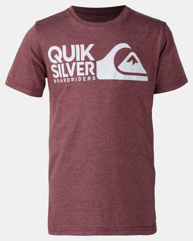 Quiksilver Mission Impossible T-shirt Red