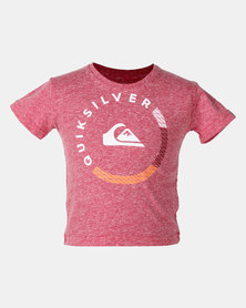 Quiksilver Roundabout Toddlers T-shirt Red