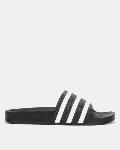 adidas Originals Adilette CBLACK/WHITE/CBLACK