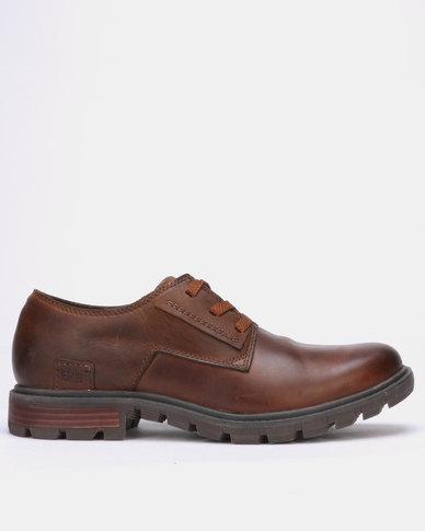 Caterpillar Data Casual Shoes Brown