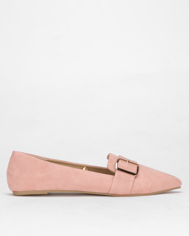 Legit Pointed Albert Cut with Buckle Detail Blush