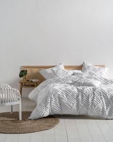 Linen House Ramona Duvet Cover Set White