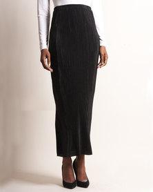Marique Yssel Cylinder Skirt - Black
