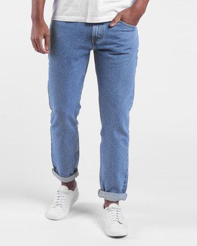 Hi-Ball Roll Jeans Blue
