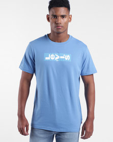 Relaxed Graphic Tee Blue