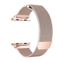 Buyitall.today Milanese Loop for Apple Watch 38mm & 40mm - Rose Gold