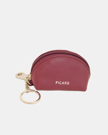 Picard Leather Key Case Berry